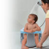 BabyJem Bathing and Feeding Seat with clasp, Blue - Gray