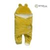 Owli Outdoor Sleeping Bag, Mustard, 0-6 months