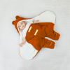 Owli Outdoor Sleeping Bag, Orange, 0-6 months