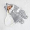 Owli Outdoor Sleeping Bag, Gray, 0-6 months