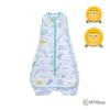 Owli Sleeping Guru Swaddle/Sleeping Bag, Zoo Zoo, 0.3 TOG, 0-36 months