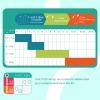 Owli Sleeping Guru Swaddle/Sleeping Bag, Rainbow, 0.3 TOG, 0-36 months