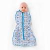 Owli Sleeping Guru Swaddle/Sleeping Bag, Safari, 0.3 TOG, 0-36 months