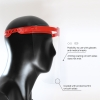 Protective Face Shield for Multiple Use, Red