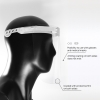Protective Face Shield for Multiple Use, White