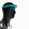 Protective Face Shield for Multiple Use, Aqua